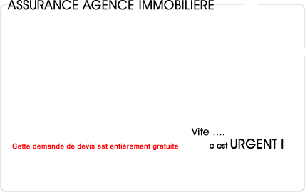 Assurance agence immobili re for Assurance pro garage
