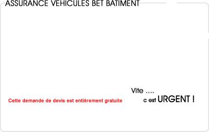 assurance automobile bureau d'étude bâtiment