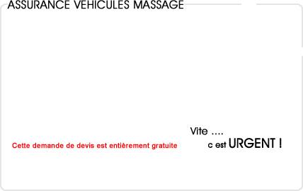 assurance automobile massage