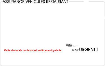 assurance automobile restaurant