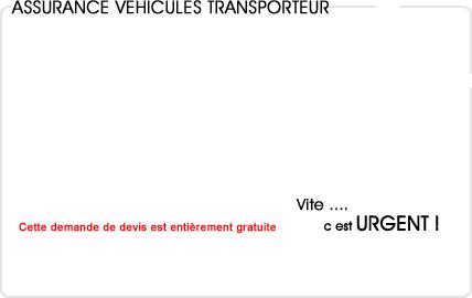 assurance automobile transporteur