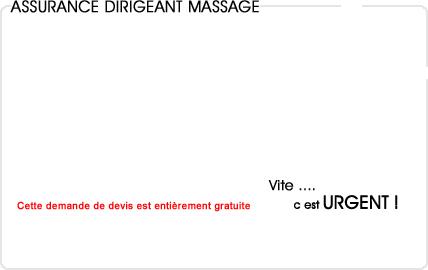 assurance dirigeant massage