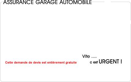 assurance garage automobile