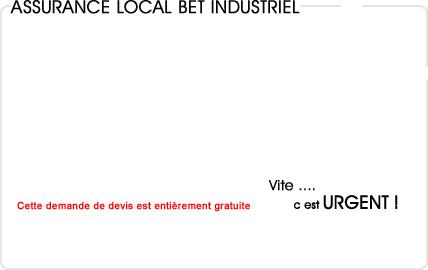 assurance local bureau d'étude industriel