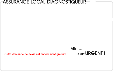 assurance local diagnostiqueur immobilier