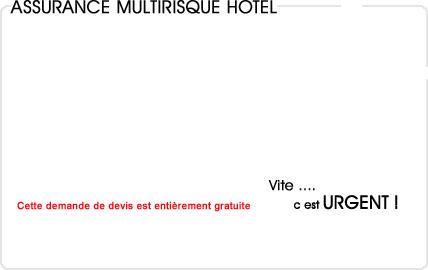 assurance multirisque hotel