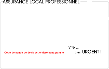 assurance local entreprise