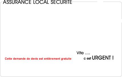 assurance local sécurité gardiennage
