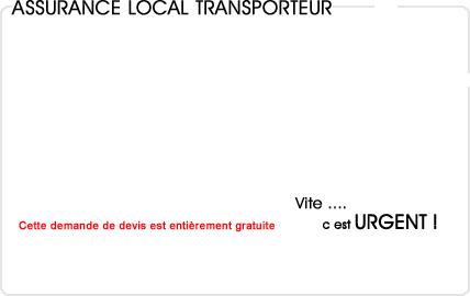 assurance local transporteur