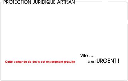 assurance protection juridique artisan