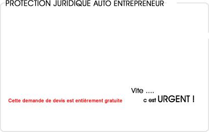 assurance protection juridique auto entrepreneur