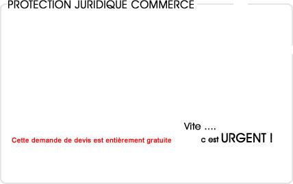 assurance protection juridique commerce