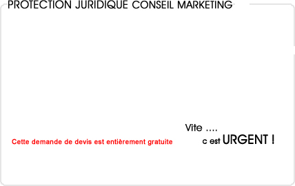 assurance protection juridique conseil en marketing