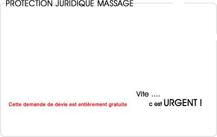 assurance protection juridique massage