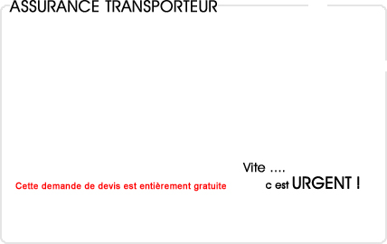 assurance transporteur