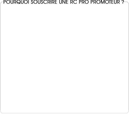 rc pro promoteur immobilier