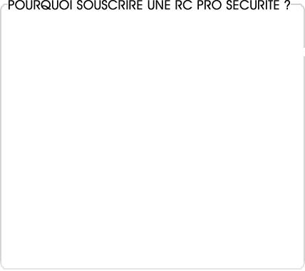 rc pro sécurité gardiennage