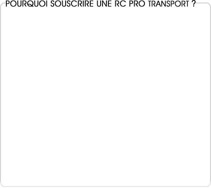 rc pro transporteur